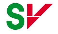 Sosialistisk Venstreparti sin logo med bokstavforkortelse SV