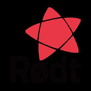 Rødt sin logo med partinavn og stilisert stjerne
